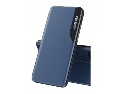 Pouzdro ECO Leather View pro Samsung G990 Galaxy S21 FE (5G) modré