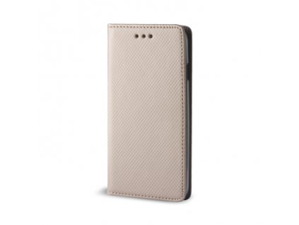 Pouzdro Smart Magnet pro Samsung Galaxy A03s zlaté