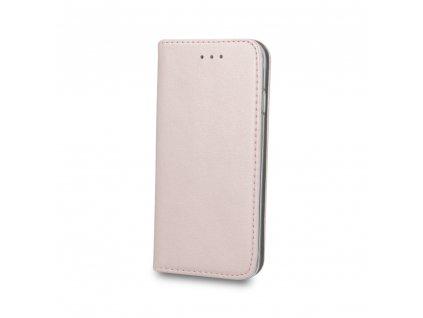 Pouzdro Smart Magnetic pro Xiaomi RedMi NOTE 10 5G rosegold