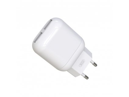 XO L78 nabíječka s výstupem 2x USB / 2,4A bílá
