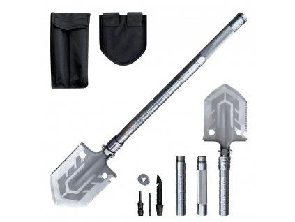 Multifunkční nástroj / lopata pro přežití 10 v 1