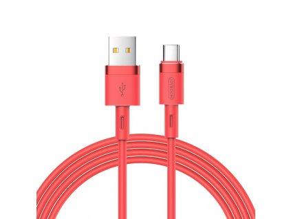 Joyroom S-1224N2 USB kabel - USB-C / 1,2m / 2,4A červený