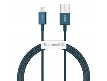 Baseus Superior CALYS-A03 USB kabel - iPhone Lightning / 1m / 2,4A modrý
