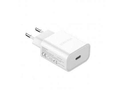 Dux Ducis nabíječka USB-C PD 20W white / bílá