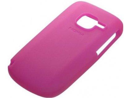 NOKIA CC-1004 silikonové pouzdro C3-00 pink / růžové (bulk)