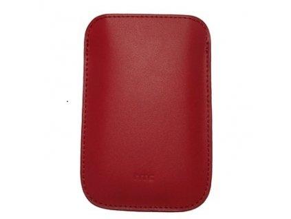 HTC PO S530 kožené pouzdro red / červené (blister)