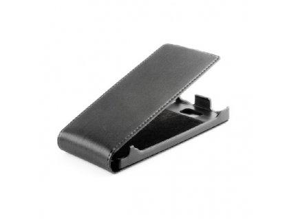 SLIGO Premium vyklápěcí pouzdro NOKIA X7 černé