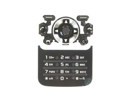 SonyEricsson F305 klávesnice black / černá