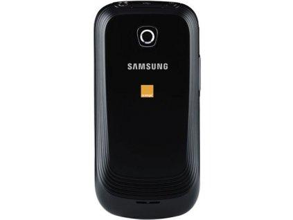 SAMSUNG i5801 Galaxy Apollo zadní kryt black / černý (logo)