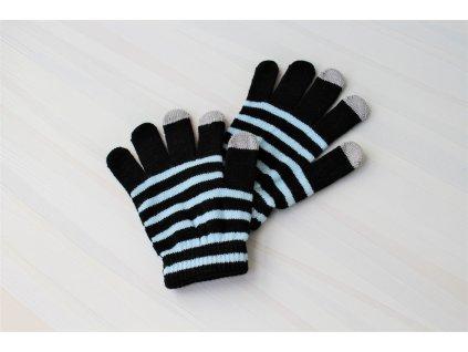GT zimní rukavice pro dotykové LCD displeje, blue (blister)