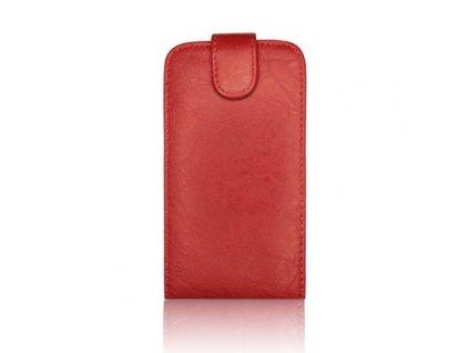 SLIGO Classic vyklápěcí pouzdro LG P920 Optimus 3D červené