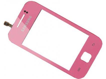 Dotyková deska + sklíčko pro SAMSUNG S5360 Galaxy Y růžová