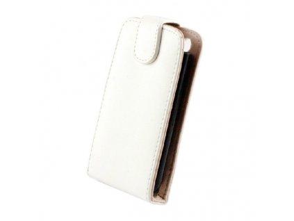 SLIGO Classic vyklápěcí pouzdro LG P700 Optimus L7 bílé