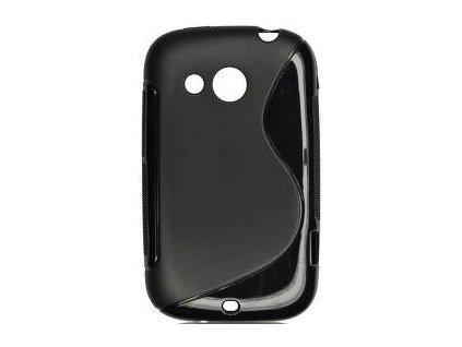 S Case pouzdro HTC Desire C black / černé