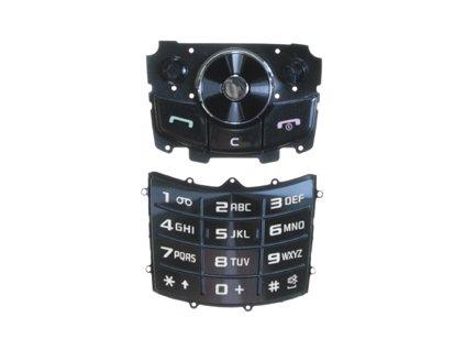SAMSUNG J700 klávesnice black / černá