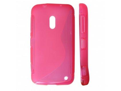 S Case pouzdro Nokia 620 Lumia pink / růžové