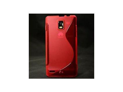 S Case pouzdro Huawei Ascend P1 red / červené