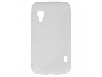 S Case pouzdro LG E455 Optimus L5 II Dual white