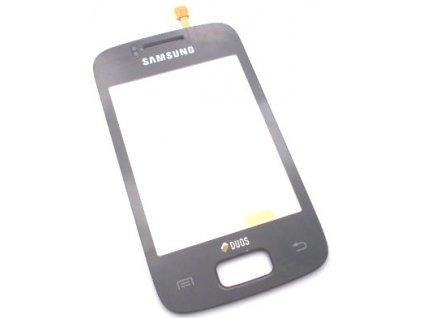 Dotyková deska + sklíčko pro SAMSUNG S6102 Galaxy Y DuoS černá