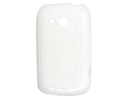 S Case pouzdro HTC Desire C white / bílé