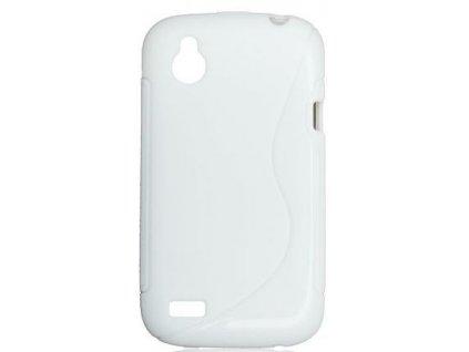 S Case pouzdro HTC Desire X white / bílé