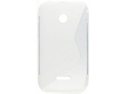 S Case pouzdro Huawei Ascend Y210 transparent white