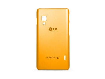 LG CCH-210 faceplate kryt E460 Optimus L5 II orange / oranžový