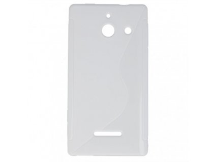 S Case pouzdro Huawei Ascend W1 white / bílé