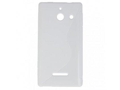 S Case pouzdro Huawei Ascend W1 transparent white