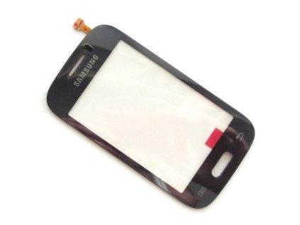 Dotyková deska + sklíčko pro SAMSUNG S6310 Galaxy Young tmavě modrá