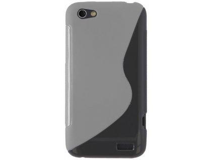 S Case pouzdro HTC One V transparent white
