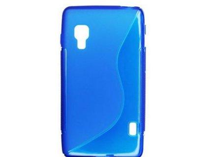 S Case pouzdro LG E460 Optimus L5 II blue