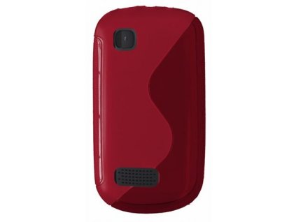 S Case pouzdro Nokia 200/201 Asha red / červené