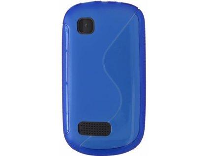 S Case pouzdro Nokia 200/201 Asha blue / modré