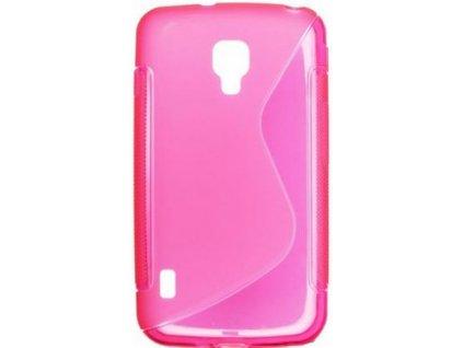 S Case pouzdro LG P715 Optimus L7 II Dual pink / růžové