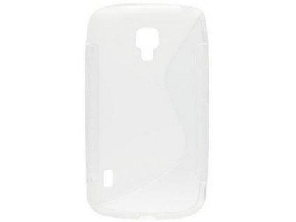 S Case pouzdro Alcatel One Touch Idol X (6033) transparent white