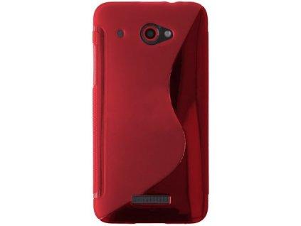 S Case pouzdro HTC Butterfly red / červené