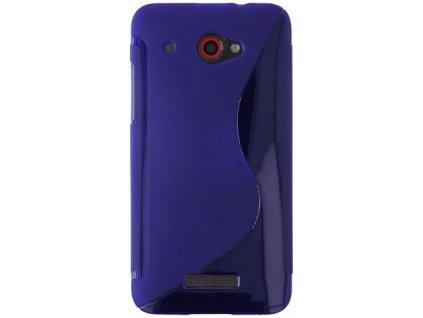 S Case pouzdro HTC Butterfly blue / modré