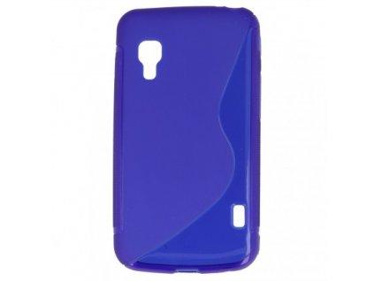 S Case pouzdro LG E455 Optimus L5 II Dual blue