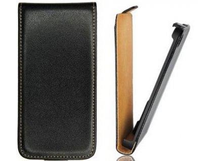 SLIGO Slim vyklápěcí pouzdro Huawei Ascend Y210 černé