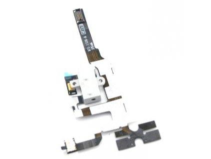 Flex kabel + AV konektor pro iPhone 4S white - OEM