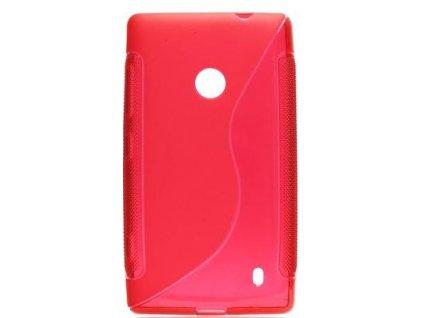 S Case pouzdro Nokia 525 Lumia red / červené