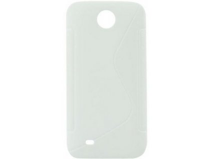S Case pouzdro Alcatel One Touch M Pop (5020D) transparent white