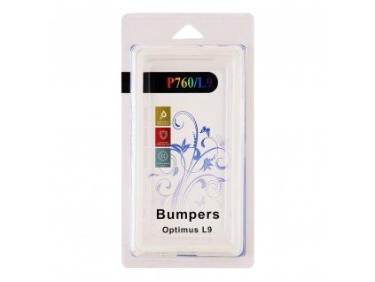 Pouzdro Bumper LG P760 Optimus L9 bílé