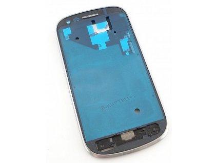 SAMSUNG i8190 Galaxy S3 Mini přední kryt (rám) white / bílý (bez skla)