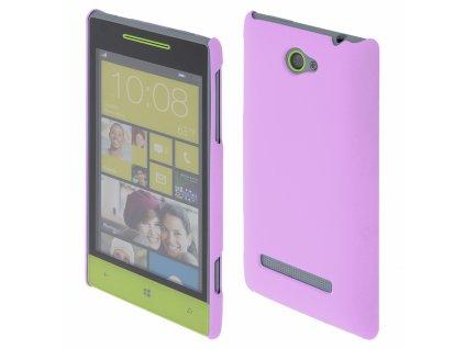 Coby Exclusive kryt HTC Windows Phone 8S purple / fialový