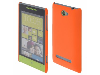 Coby Exclusive kryt HTC Windows Phone 8S orange / oranžový