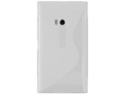 S Case pouzdro Nokia 900 Lumia transparent white