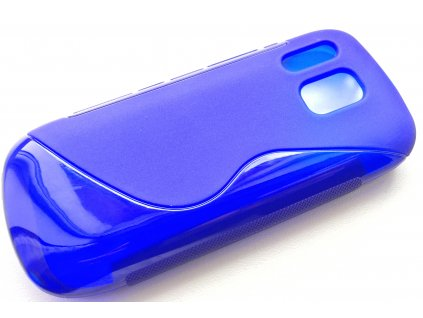 S Case pouzdro Nokia 202 Asha blue / modré