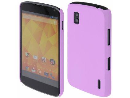 Coby Exclusive kryt LG E960 Nexus 4 purple / fialový